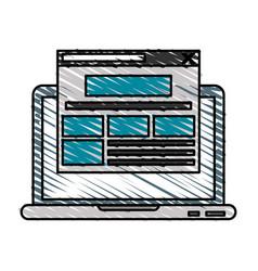 webpage vector image vector image