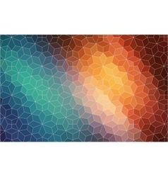 Abstract 2d mosaic colorful background vector