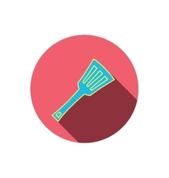 Kitchen utensil icon kitchenware spatula sign vector