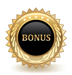 Bonus Badge vector image vector image