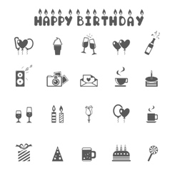 Celebration and Party Icons - vector image vector image
