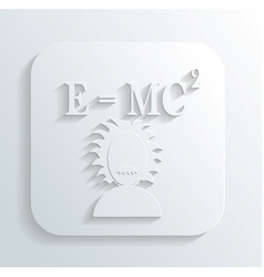 Scientist equation vector