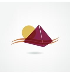 Egypt icon vector image