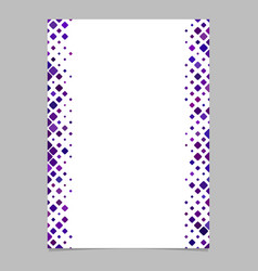 Page template from purple diagonal rounded square vector