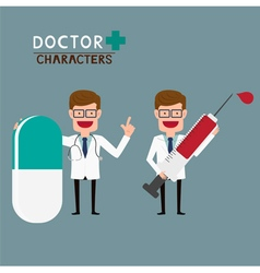 Doctor characters vector