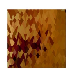 Autumn leaves abstract low polygon background vector