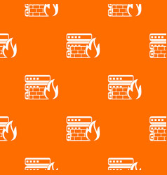 Database and firewall pattern seamless vector