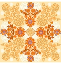 Floral background Autumn designe vector image vector image