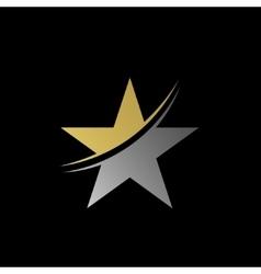 Star symbol logo vector