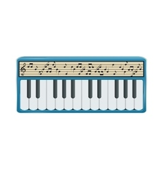 Electronic synthesizer with digital display vector