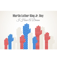 Martin Luter King vector image