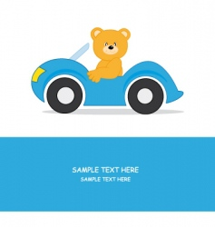 Car bear vector
