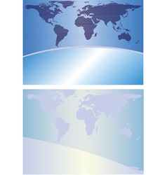 Globe background vector