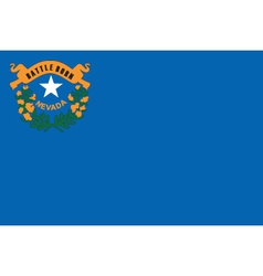 Nevada flag vector
