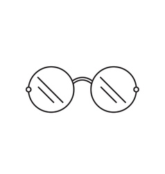 Sunglasses icon outline vector