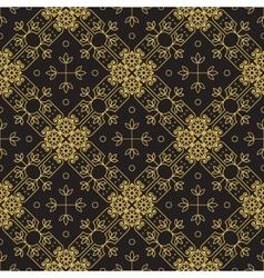 Ornamental geometric pattern vector
