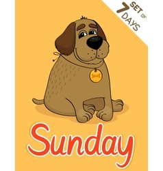 Sunday vector
