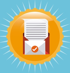 Mail concept vector