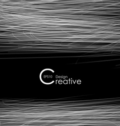 Creative Abstract Background with Lines vector image vector image