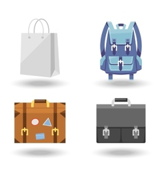 Set of four baggage vector