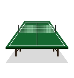 ping pong table icon vector image