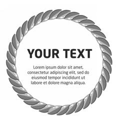laurel wreath template vector image