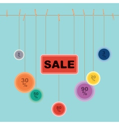 Sale banner design2 vector