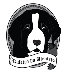 Rafeiro do alentejo portrait isolated dog vector
