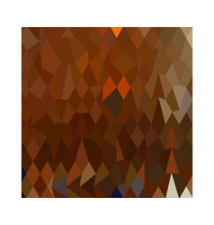 Brown forest abstract low polygon background vector