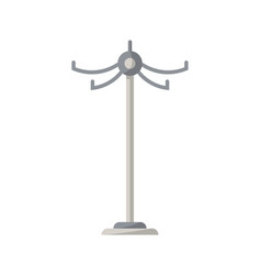 floor clothes hanger isolated icon in flat style vector image vector image
