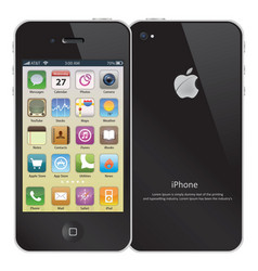 Iphone color vector