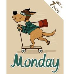 Monday vector