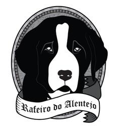 Rafeiro do Alentejo Portrait Isolated dog vector image vector image
