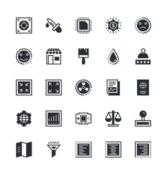 User interface and web colored icons 11 vector