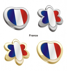 flag of France vector image