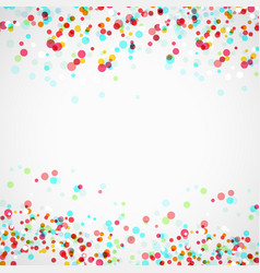 bright colorful parti-colored abstract layout vector image vector image