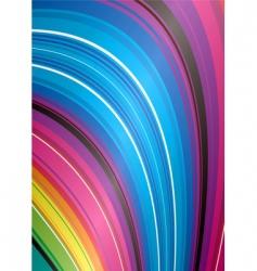 rainbow falls vector image vector image