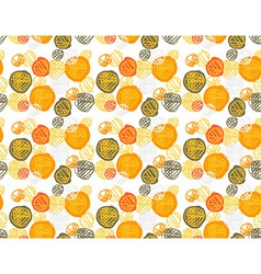 Seamless pattern of simple geometry retro-style vector