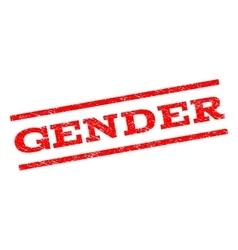 Gender watermark stamp vector