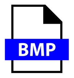 file name extension bmp type vector image