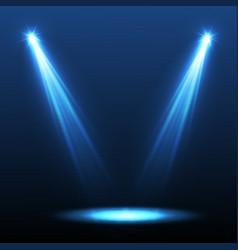 Spotlight light effectscene illumination vector