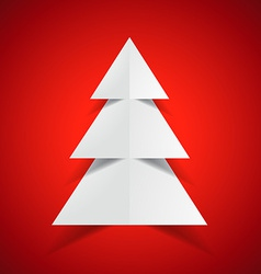 creative merry christmas design vector image