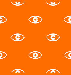 human eye pattern seamless vector image
