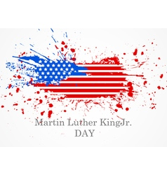 Martin Luter King vector image vector image