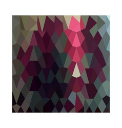 Burgundy abstract low polygon background vector