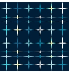 Christmas stars shine seamless pattern vector image