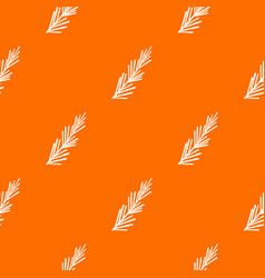 rosemary spice pattern seamless vector image