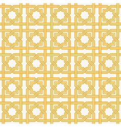Traditional Islam Geometric pattern seamless vector image