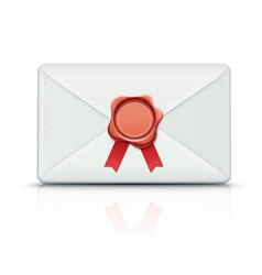 Retro envelope vector