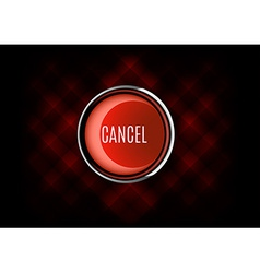 Cancel buttons vector